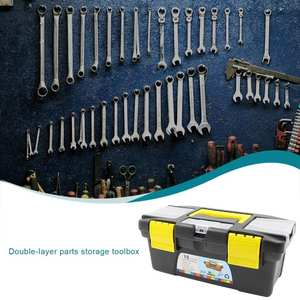 Parts Storage-Box Toolbox Hardware-Tool Electrician-Box Multifunctional-Instrument Abs-Plastic