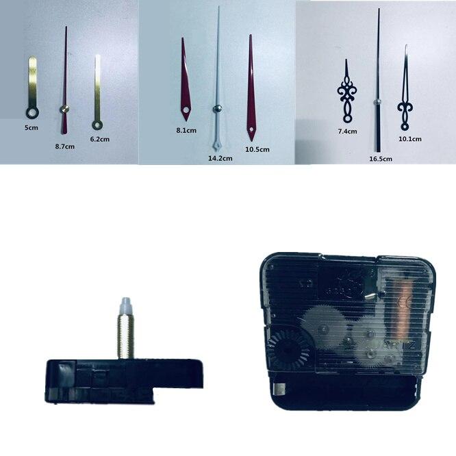 3 Years Warranty Silent Wall Clock Mechanism Sweep High Torque 28mm Clockwork Mechanism Quartz Machine Clockwork DIY With Arms