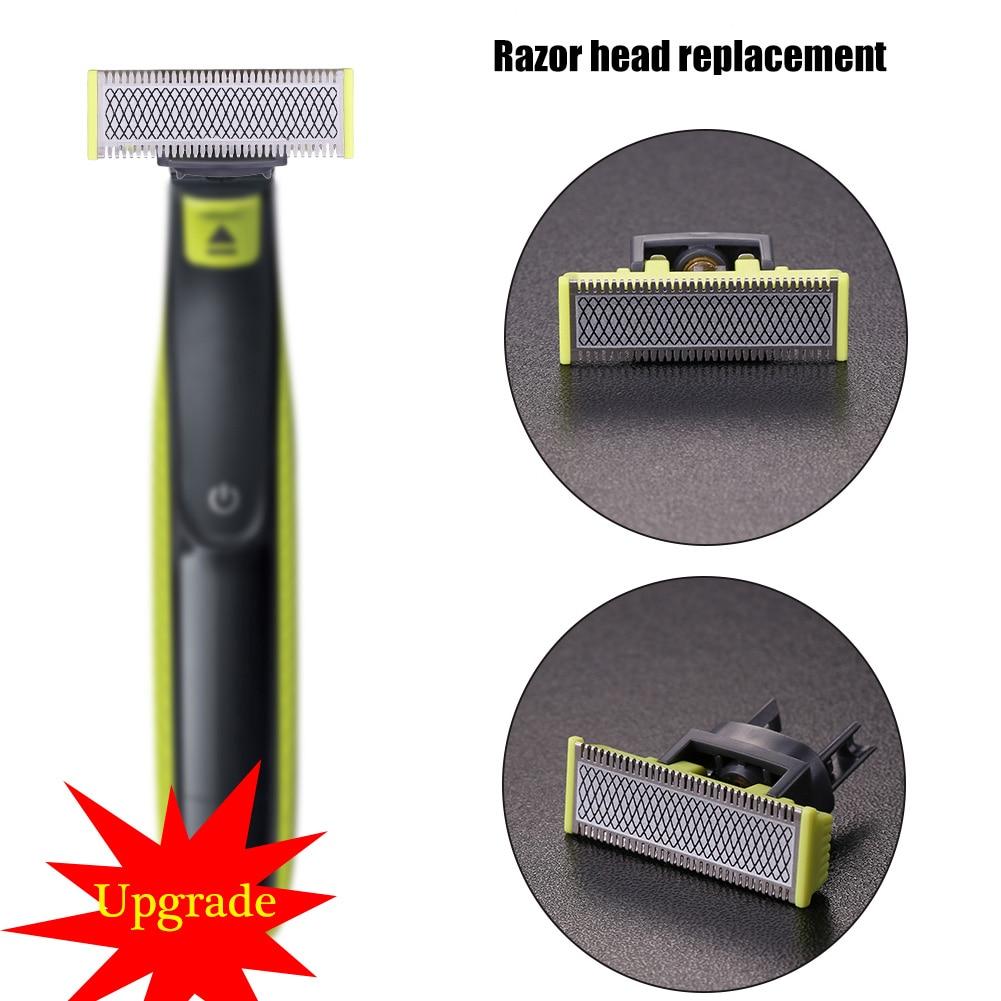 Для мужчин бритва запасная бритвенная головка лезвия для бритья режущая головка заменить Для мужчин t для Philips-OneBlade-бритва QP210/50 заменить Для...