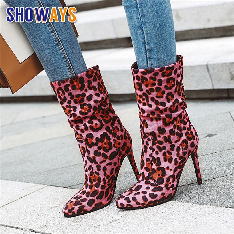 pink leopard heels