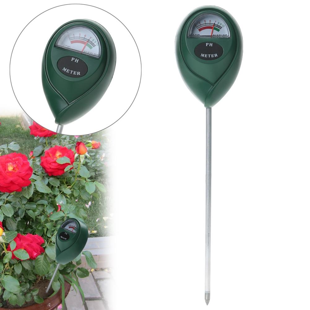 3,0-10,0 Цифровой PH тестер уровня почвы для растений, цветов, овощей, PH тестер для измерения кислотности, щелочи, садовый инструмент