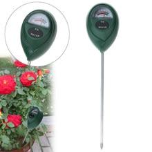 3.0-10.0 verificador do medidor do nível do ph do solo do ph de digitas para as flores das plantas