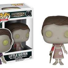 Официальная Funko поп-игры: Bioshock-Little Sister Виниловая фигурка Коллекционная модель игрушки с оригинальной коробкой