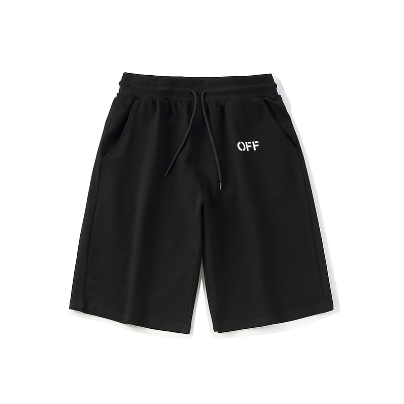 Spring And Summer Shorts Europe And America Popular Brand Ow-Style Shorts Teenager Outdoor Casual Off Cool Pants