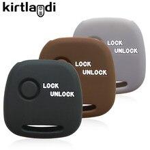 Silicone remoto chave caso capa titular para suzuki wagon r solio 2003 moko para nissan pino para mazda acessórios do carro chave proteger