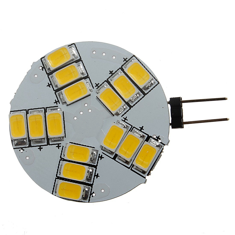 <font><b>10</b></font> <font><b>pcs</b></font> <font><b>G4</b></font> 15 SMD 5630 LED energy saving lamp pin base lamp bulb Warm White 3,5W image