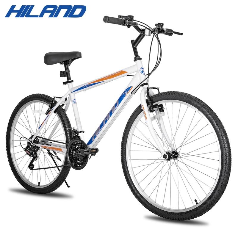 18 Скоростной горный велосипед 26 дюймов стальная рама доступный MTB Бесплатная доставка городской велосипед дорожный велосипед