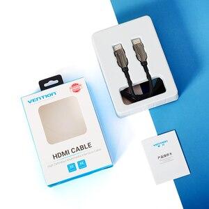 Image 5 - Bộ Chia Vention HDMI 2.1 Cáp 8K @ 60Hz Tốc Độ Cao 48Gbps Cáp HDMI Dành Cho Apple TV PS4 Cao Cấp giao Diện Đa Phương Tiện Cáp HDMI 3 M