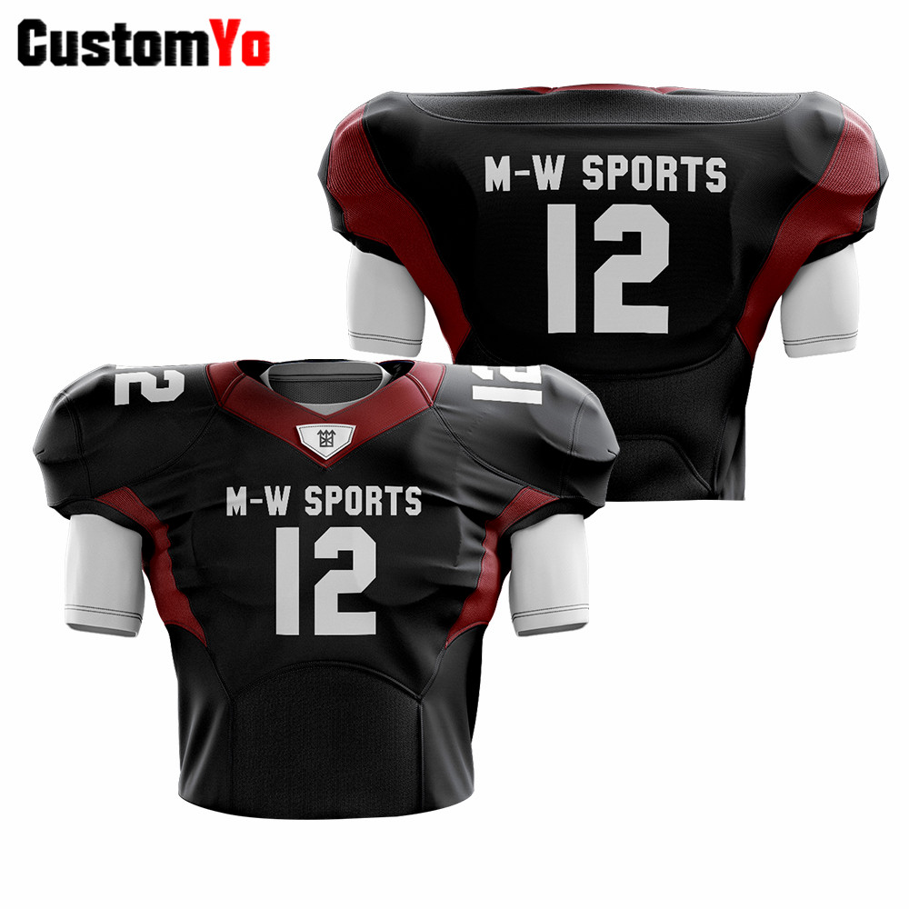 Hot Sale Football Jersey Professional Sublimation American Football Jerseys Team Uniform image