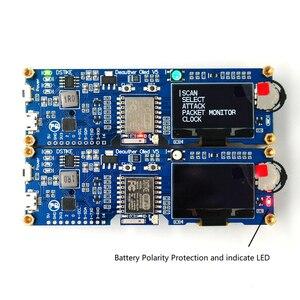 Image 4 - Dstike Wifi Deauther OLED V5 ESP8266 Ban Phát Triển Cho Pin 18650 Bảo Vệ Phân Cực Wiht Ốp Lưng Ăng Ten 4 Mb I1 003