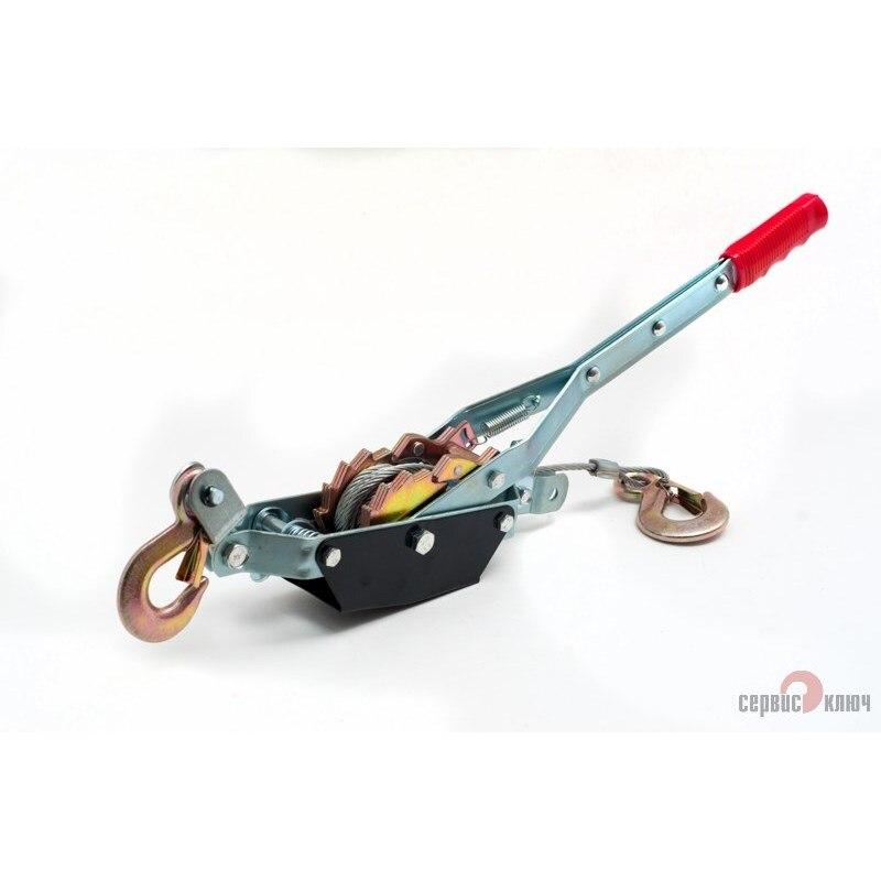 Cabrestante manual 0,75 length/1,5 length longitud 2,2 m llave de servicio 71070