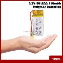 3,7 V 80mAh 301230 Lithium-Polymer Li-Po li ionen Akku zellen Für Mp3 MP4 MP5 GPS PSP mobile bluetooth