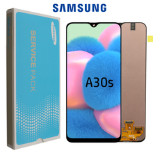 """100% Original 6.4"""" super AMOLED For Samsung Galaxy A30s A307F A307 A307FN LCD Display Screen replacement Digitizer Assembly"""