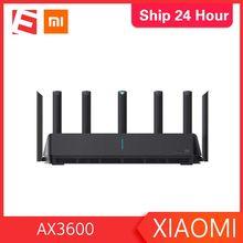Routeur d'origine XIAOMI AIoT Wifi6 5G WPA3 AX3600 600 mo double Gigabit 2976Mbs A5Duty Ratio amplificateur de Signal Modem externe routeur