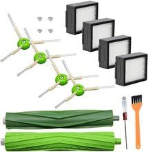Hepa filtro escova lateral para irobot roomba i7 i7 + i6 i8 i3 plus e5 e6 e7 3150 e & i série aspirador de pó acessórios substituição