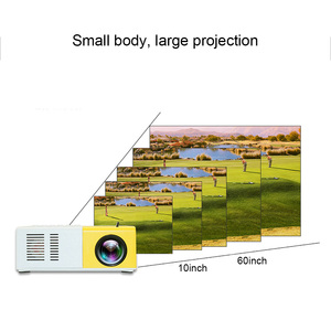 Image 2 - J9 Mini projektor LED 1080P projektor HD Ultra projektory Mini projektor obsługa telefonu komórkowego multimedialny zestaw kina domowego