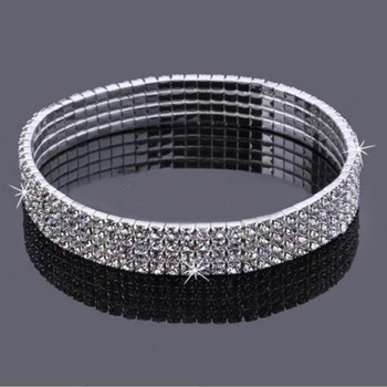 2017 Real Womens Look Stunning Diamante Rhinestone Anklet Ankle Chain For Proms Parties Or Weddings For The Bride Bridesmaid 5