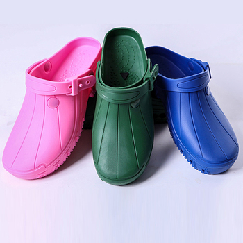 High-end Operating Room Slippers High Temperature Resistant Puncture Non-slip Men and Women Protective Nursing Shoes