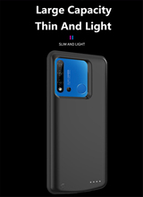 6500mAh Power Bank Charging Cover Cases For Huawei Nova 5i Power Case External Battery Power Charger Case
