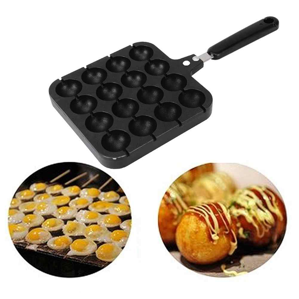 Non-Stick Takoyaki Maker Cooking Baking Mold Tray Grill Pan Plate Takoyaki Grill Pan