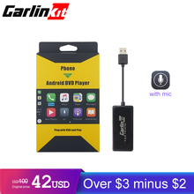цена Carlinkit USB CarPlay Dongle for Android Car Head Unit Screen Touch with iOS Carplay System New Upgrade Version