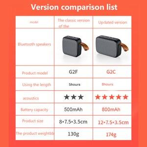 Image 3 - Taşınabilir kablosuz Bluetooth Mini hoparlör Stereo taşınabilir hoparlörler açık Subwoofer sütun hoparlör Bluetooth Dropship için