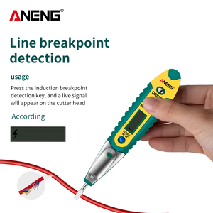 VD700 Digital Test Pencil Tester Electrical Voltage Detector Pen AC/DC 12-250V LCD Display Screwdriver for Electrician Tools