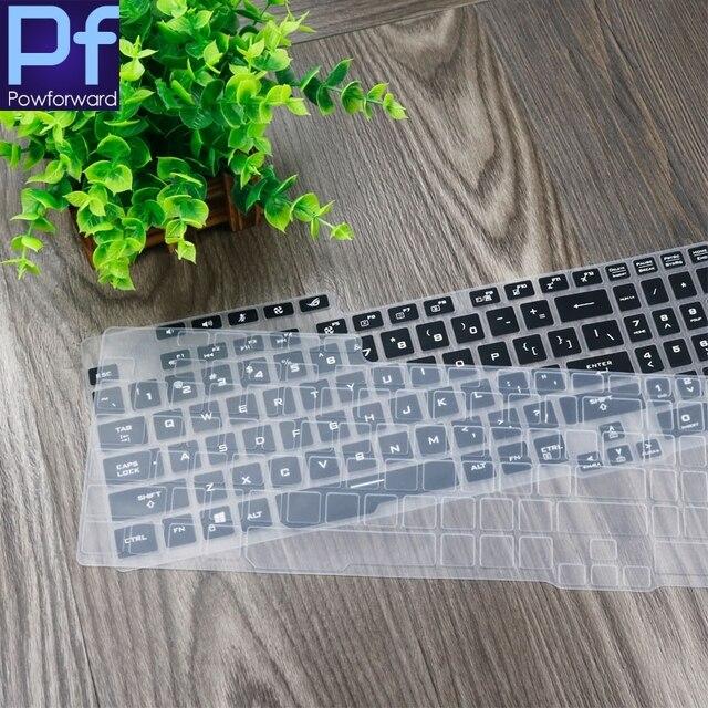 Dla ASUS ROG Strix G G731GV G731GW G731GT G731GU G 731 GW GT GU 17.3 cal Gaming Laptop klawiatura pokrywa Protector Laptop