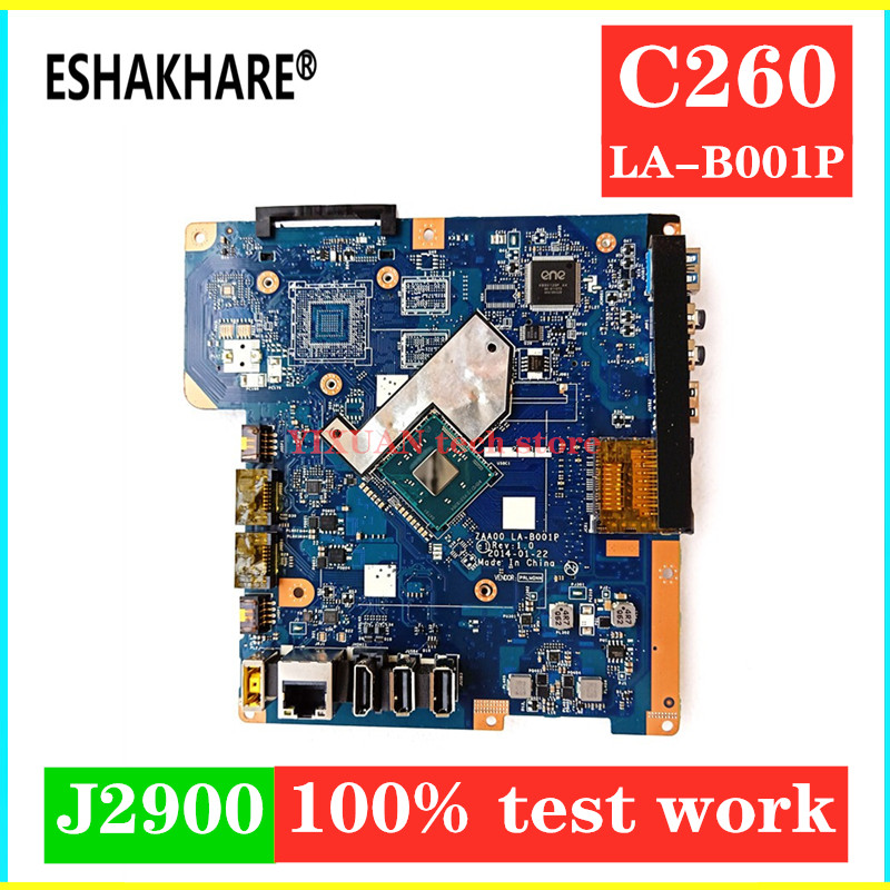 ESHAKHARE CPU All-In-One motherboard Lenovo C260 for with J2900 Zaa00/La-b001p/90007086