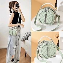 Ladies small bag fashion one-shoulder messenger bag wild ins popular small round bag