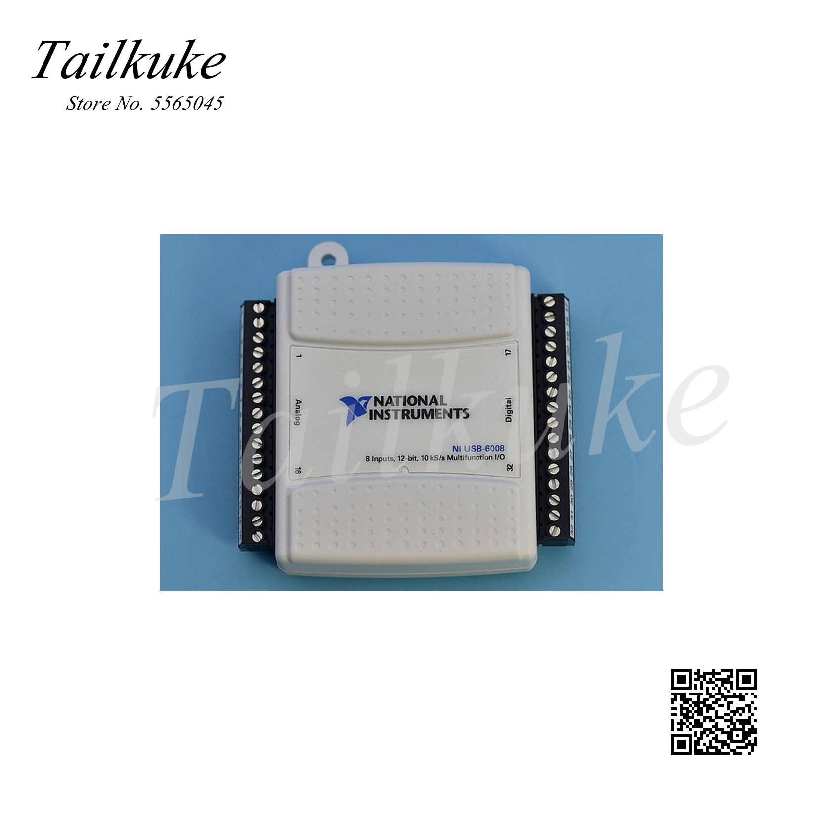 Original NI USB-6008 Data Acquisition Card Multifunction DAQ 779051-01