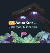 Hipargero gorąca sprzedaż 85W rafa koralowa LED Fish Light programowalny wschód słońca słonowodne oświetlenie woda morska