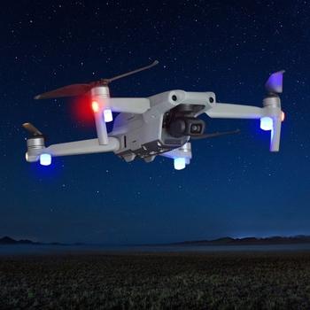 Uniwersalne światło stroboskopowe Drone Night dla DJI- Mavic Air 2 Mavic Mini Mavic Pro Spark Mavic Air 1 Mavic 2 Pro Zoom 3 4 X6HB tanie i dobre opinie Crust Pro other CN (pochodzenie) 1x1 8cm