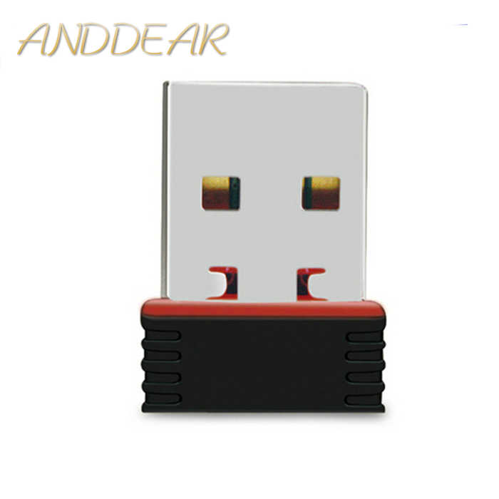 150Mbps MTK7601 usb wifi direct adattatori USB 2.0 ad alta potenza Mini USB Wifi dongle