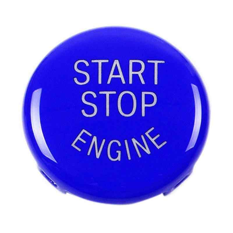 Mobil Mesin Mulai Tombol Berhenti Mengganti Switch Cover Aksesoris Kunci Dekorasi untuk BMW X1 X5 E70 X6 E71 Z4 E89 3 5 Seri E90 E91 E60