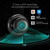 V380 Мини Wi-Fi камера 1080p IP камера беспроводная CCTV инфракрасная камера ночного видения Обнаружение движения 2-сторонняя аудио домашняя камера б... 5
