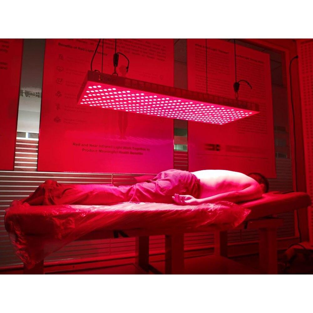 ideia luz inteligente controle temporizador 600w 800w tratamento de corpo inteiro 660nm 850nm led terapia de