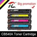 HTL Совместимость CB540A 540A 540 CB543A 125A Цвет тонер-картридж для HP LaserJet CP1215 CP1515n CP1518ni CM1312