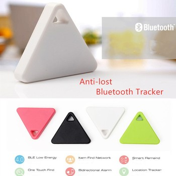 Pet Smart Mini GPS Tracker Pet Locator Anti-lost Waterproof Bluetooth Tracker Triangular Kids Dog Cat Tracker Multiple Colors 5