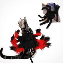 New Pet Cat Cosplay Creative Halloween Spider Chest Strap Christmas Straps With Leash Costume