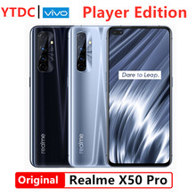 Realme X50 Pro Player Edition 6GB 128GB 5G Snapdragon 865G Prozessor Handy UFS 3,1 65W Super VOOC 180HzSampling Rate 6.44''