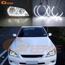 For LEXUS IS200 IS300 1998-2005 Excellent led angel eyes Ultrabright illumination smd led Angel Eyes Halo Ring kit