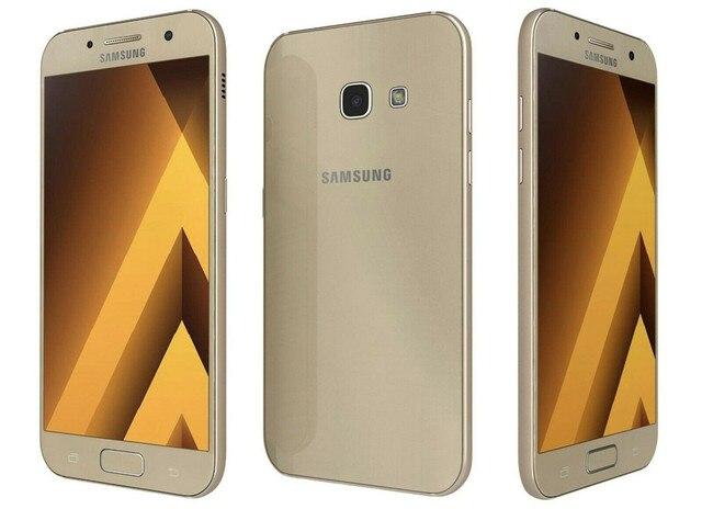 "Samsung Galaxy A3 2017 A320F A320FL RAM 2GB ROM 16GB Mobile Phone Octa Core 4.7"" 13MP&8MP Exynos NFC Fingerprint Cellphone 5"