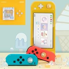 קרח קרם רך אגודל מקל אחיזת כובע ג ויסטיק מגן כיסוי עבור Nintendo מתג NS לייט שמחה קון בקר Thumbstick מקרה