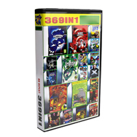 Cartucho de consola de 32 bits para Nintendo GBA, colección de compilaciones, versión en inglés 369 en 1