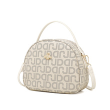 цена на Soft texture Mini handbag lady bag letter light shell one shoulder inclined bag