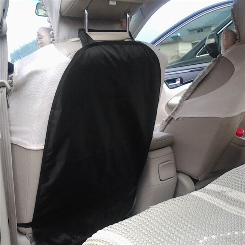 45X67cm Car Seat Back Anti Kicking Pad For Children Car Rear Seat Back Scuff Dirt Protection Cover Car Accessories Interior