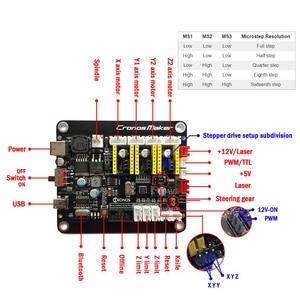 Image 3 - 3018 프로 최대 레이저 조각 기계 전원 0.5W 15W 3 축 CNC 라우터 DIY 미니 목공 레이저 조각사 오프라인 컨트롤러