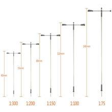 20 шт 1:75 200 масштабная модель железнодорожный поезд лампа