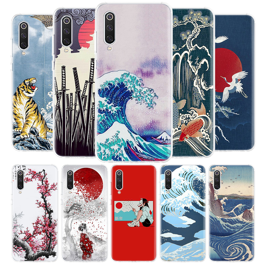 Tokyo Japanese Art Cover Phone Case for Xiaomi Redmi Note 9S 9 8 8T 7 6 Pro 6A 4X 7A 8A S2 5A 5 Mi 8 9 Lite Pro CC9 F1 Coque
